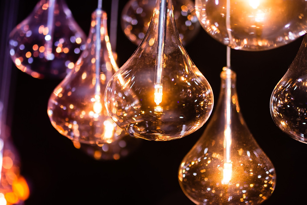 Beautiful Light Bulbs to relate to an idea.
