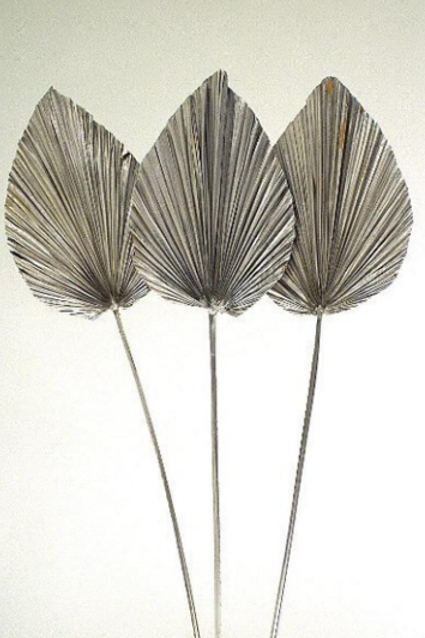 Large Silver Anahaw Leaf
