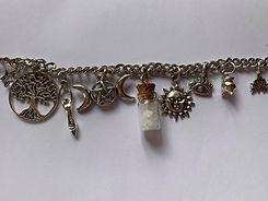 supernatural bracelet with amulets