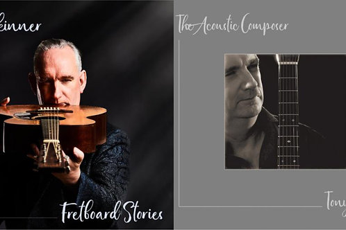 Twin CD pack - Fretboard Stories AND The Acoustic Composer