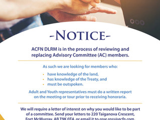 DLRM Advisory Committee Opportunity