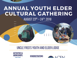 ANNUAL YOUTH ELDER CULTURAL GATHERING