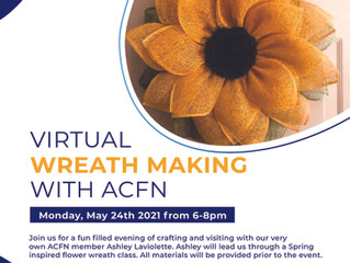 Upcoming Event - Virtual Wreath Making