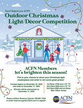 ACFN Fort Chipewyan Outdoor Christmas Light/Decor Competition