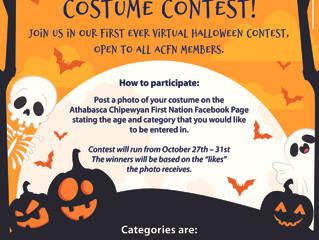 Virtual Halloween Costume Contest - October 27-31
