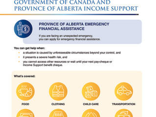 Government of Canada and Province of Alberta Income Support