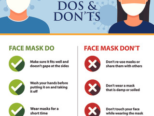 Tips on Using Face Masks