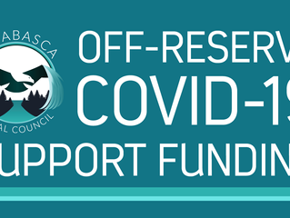 ATC Off-Reserve COVID-19 Support Funding