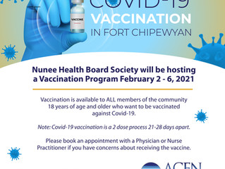 Fort Chipewyan COVID-19 Vaccination