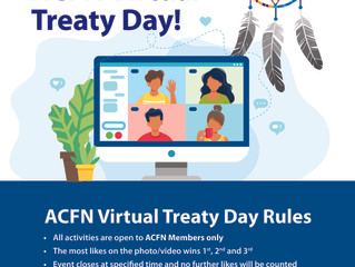 2020 ACFN Virtual Treaty Day - Schedule and Contest Rules
