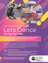 Let's Dance - ACFN Youth Dance Classes