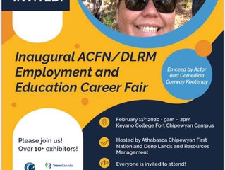 Save the Date! Join us on February 11, 2020, at the Inaugural ACFN/DLRM Employment & Career Fair