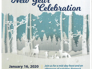 ACFN Elders' Celebration - January 16, 2020 - Come dressed in your traditional attire!