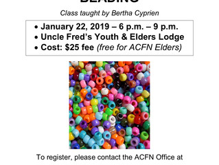 Intro to Beading Course - Jan 22, 2019