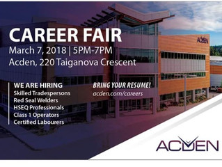 ACDEN CAREER FAIR