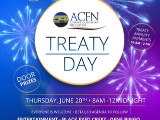 ACFN Treaty Day - June 20, 2019