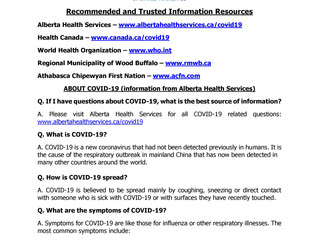 COVID-19 Frequently Asked Questions - Updated March 23