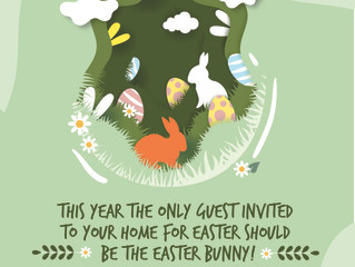 2021 Easter Holiday Celebration Reminder