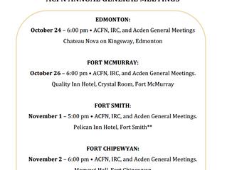 ACFN Annual General Meetings