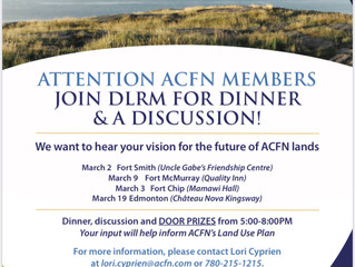 Reminder:  Join DLRM for Dinner and a Discussion