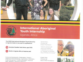 International Aboriginal Youth Internship Opportunity