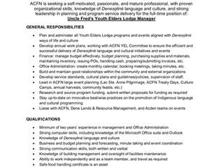 New ACFN Employment Opportunities!