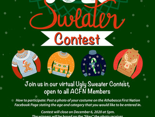 ACFN Virtual Ugly Sweater Contest
