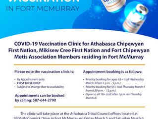 COVID-19 Vaccination in Fort McMurray