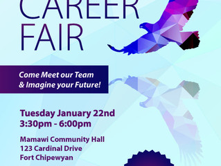 Acden Career Fair in Fort Chipewyan - Jan 22, 2019