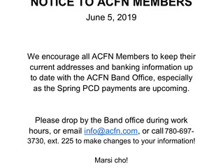 Members Encouraged to Update their Info!