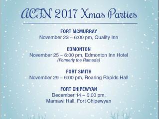 ACFN 2017 Xmas Parties