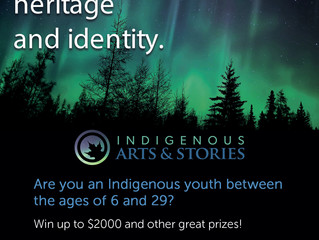 Check out this Art & Writing Contest for Indigenous Youth - Deadline: Mar 31, 2019