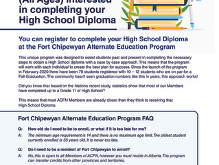 Do you want to complete your High School Diploma?