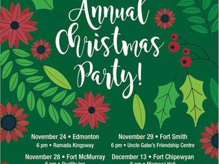 ACFN Members Annual Christmas Parties!