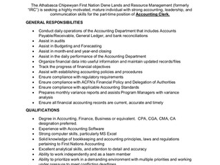 DLRM Job Opportunity in Fort McMurray