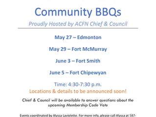 SAVE THE DATE - ACFN Members Community BBQs are coming soon!