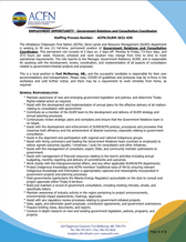 EMPLOYMENT OPPORTUNITY:  Government Relations & Consultation Coordinator - ACFN/DLRM-2021-030