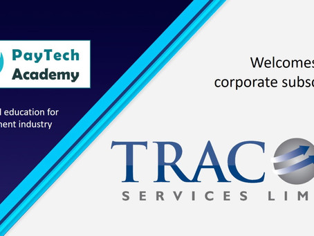 PayTech Academy welcomes new corporate subscriber Tracom Services Limited