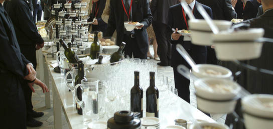Black Tie Catered Event