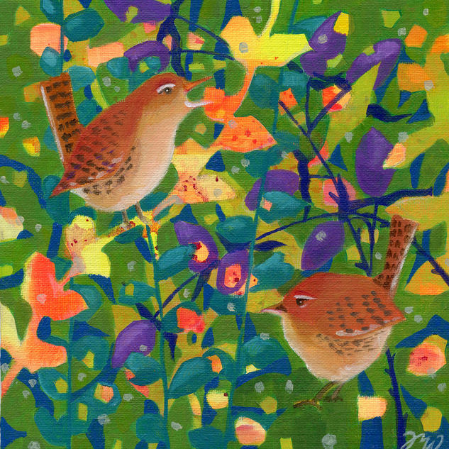 Hedgerow Wrens
