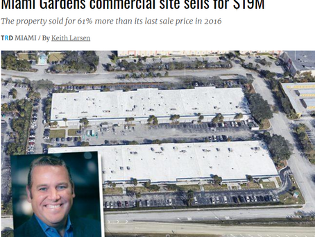 Miami Gardens Commercial Site Sells for $19M