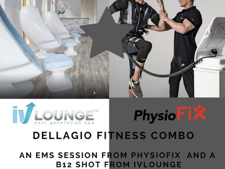 PHYSIOFIX + IV LOUNGE $75 FITNESS COMBO