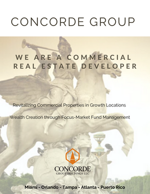 Concorde Goup Holdings Commerecial Real