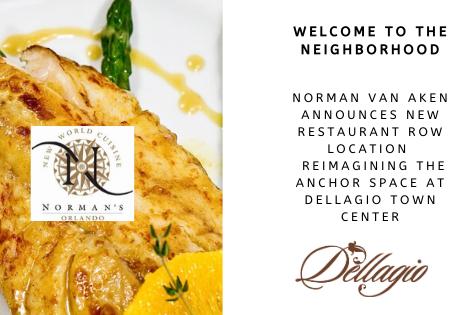 Norman Van Aken Announces NEW Restaurant Row Location