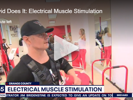 FOX35 Orlando's - David Martin Does #EMS Training at PhysioFix Fitness