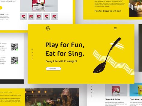 Fun SingUS Web Design