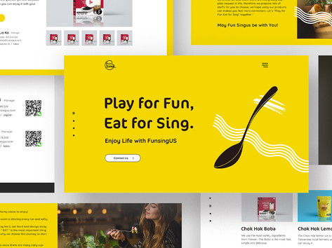 Fun SingUS Web Design