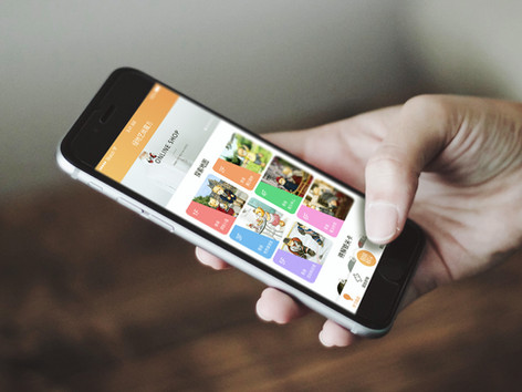 Teddy Shopping Mall App Design