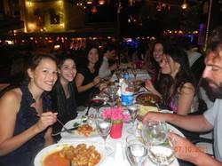 Lovely Dinner in Istanbul