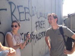 Martijn Van Zomeren visit in Israel